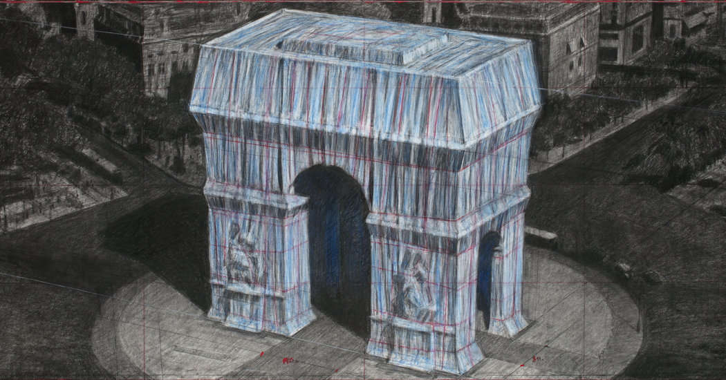 Christo's Next Project: Wrapping the Arc de Triomphe