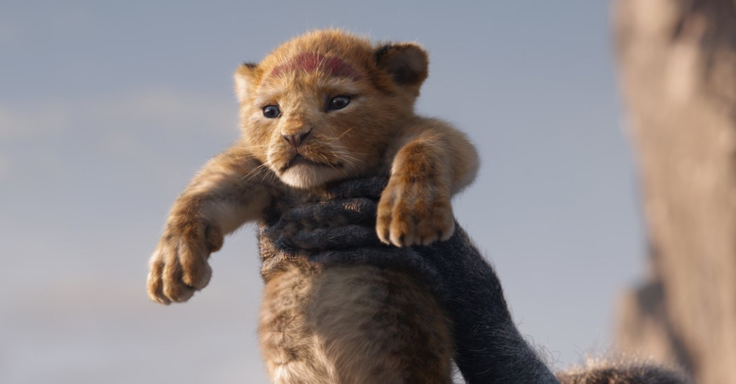 How They Made Little Simba Look So Lifelike in 'The Lion King'